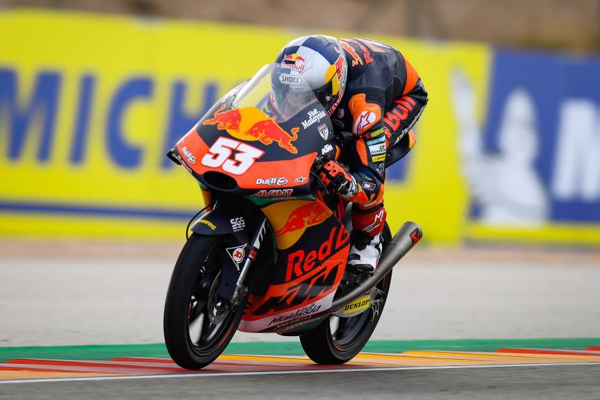 Deniz Oncu, Red Bull KTM Ajo, Gran Premio Michelin® de Aragon