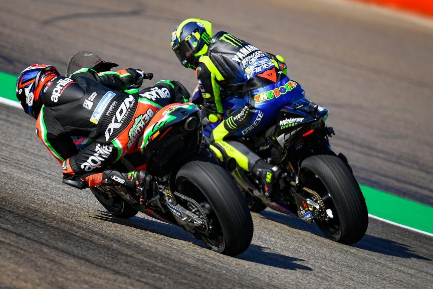 Bradley Smith, Valentino Rossi, Gran Premio Michelin® de Aragon