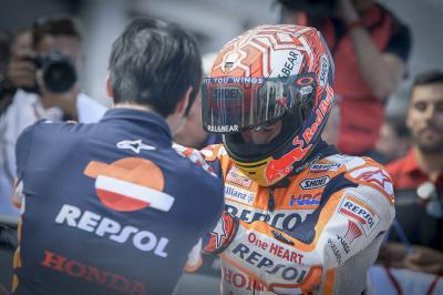 Marquez tells his plan for the race at MotorLand
