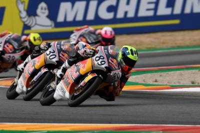 Red Bull MotoGP Rookies Cup Race 1 in Motorland Aragon