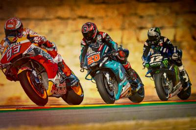 Quartararo, Viñales in the hunt but Marquez claims pole