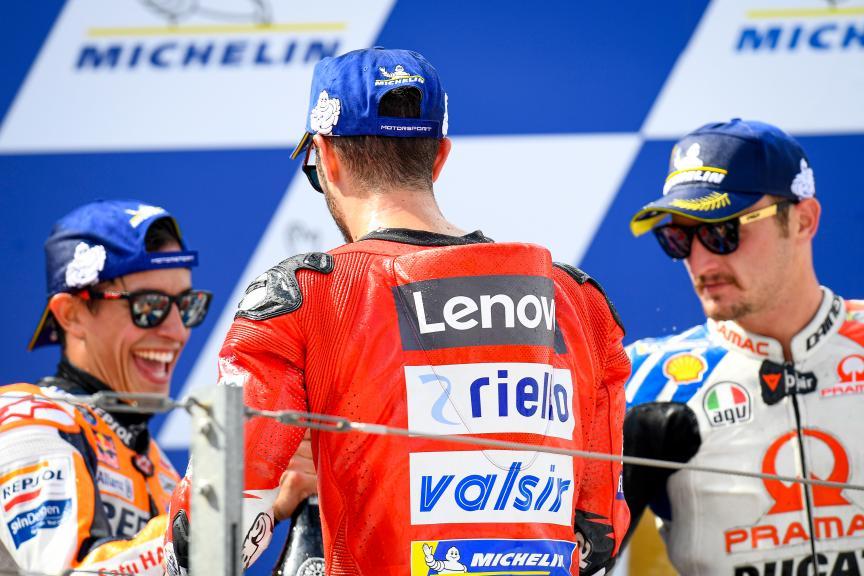 Jack Miller, Andrea Dovizioso, Marc Marquez, Gran Premio Michelin® de Aragon