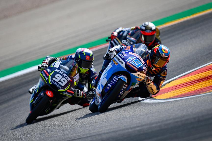 Gabriel Rodrigo, Kőmmerling Gresini Moto3, Gran Premio Michelin® de Aragon