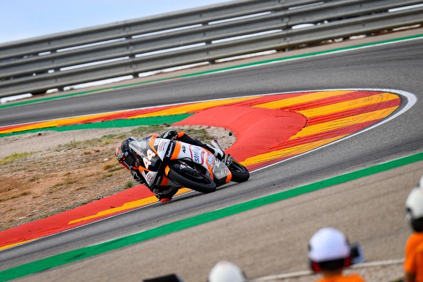 Aron Canet, Sterilgarda Max Racing Team, Gran Premio Michelin® de Aragon