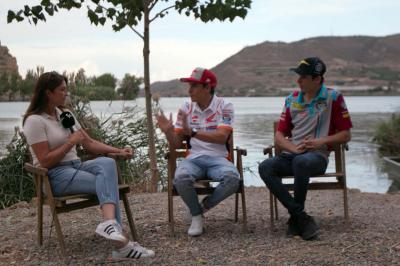 Marquez brothers chat to BT Sport ahead of Aragon