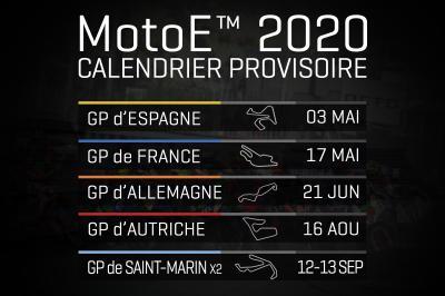 Calendrier Ramadan Lyon 2020.Voici Le Calendrier Provisoire 2020 Du Motoe Motogp
