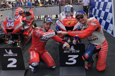 After the Flag - en bref: La prestation des Ducati en Aragón