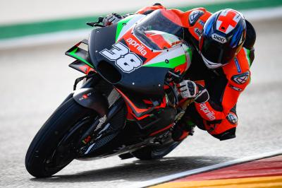 Ducati, KTM y Aprilia se exprimen en Valencia y Aragón