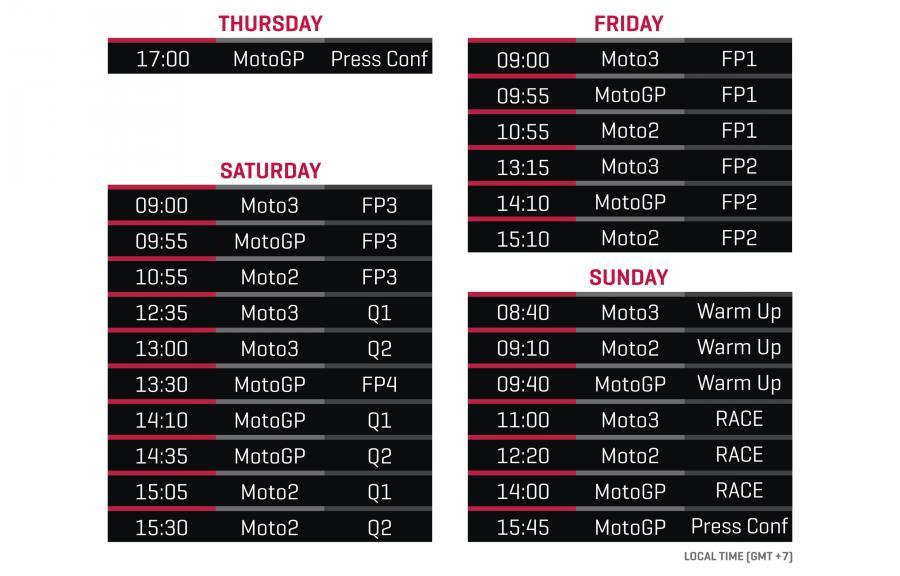 Schedule Thai