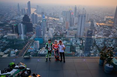 Lorenzo, Crutchlow y Chantra acarician el cielo de Tailandia