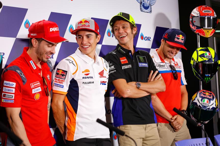Press-Conference, PTT Thailand Grand Prix