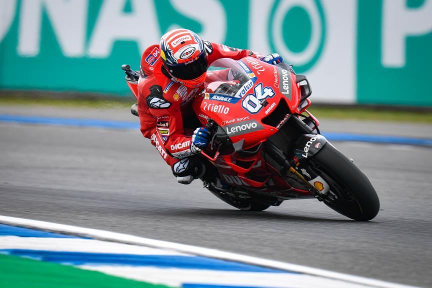 Andrea Dovizioso, Ducati Team, PTT Thailand Grand Prix
