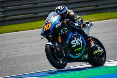 Marini pips Chantra as Day 1 concludes from Buriram