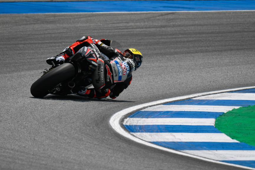 Tom Luthi, Dynavolt Intact GP, PTT Thailand Grand Prix
