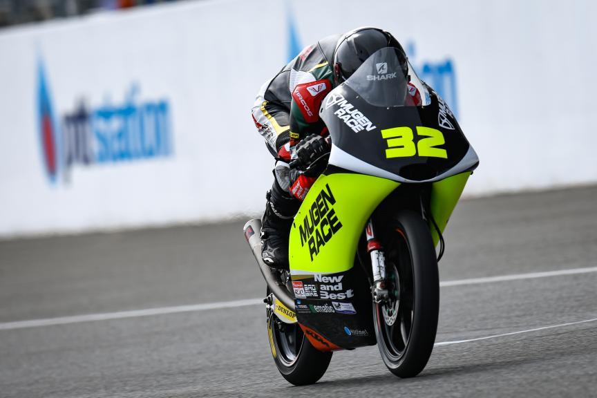 Davide Pizzoli, Mugen Race, PTT Thailand Grand Prix