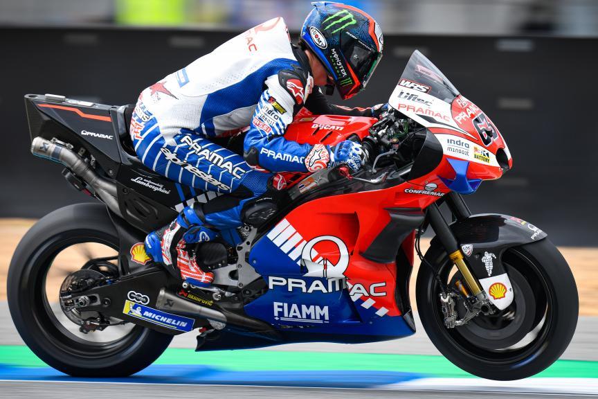 Francesco Bagnaia, PRAMAC RACING, PTT Thailand Grand Prix