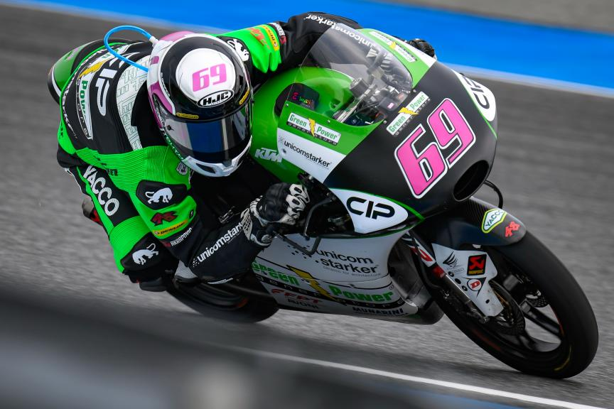 Tom Booth-Amos, CIP Green Power, PTT Thailand Grand Prix