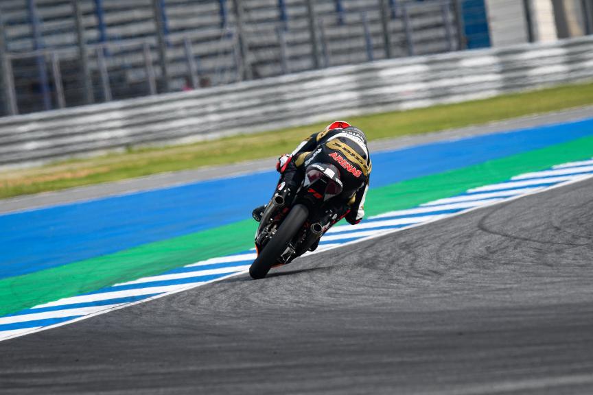 Albert Arenas, Gaviota Angel Nieto Team, PTT Thailand Grand Prix