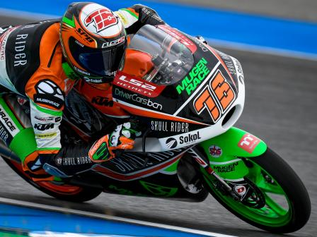 Moto3, Free Practice, PTT Thailand Grand Prix