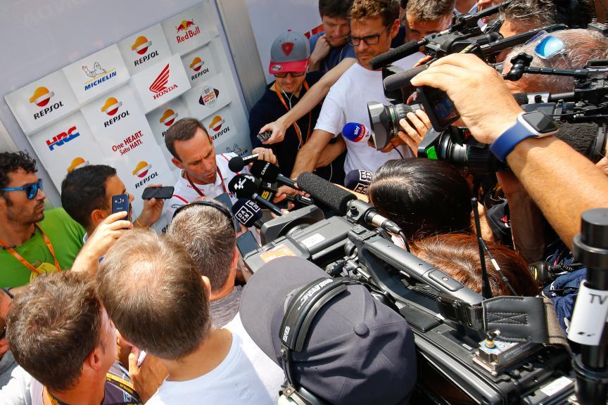 Repsol Press-Conference, PTT Thailand Grand Prix