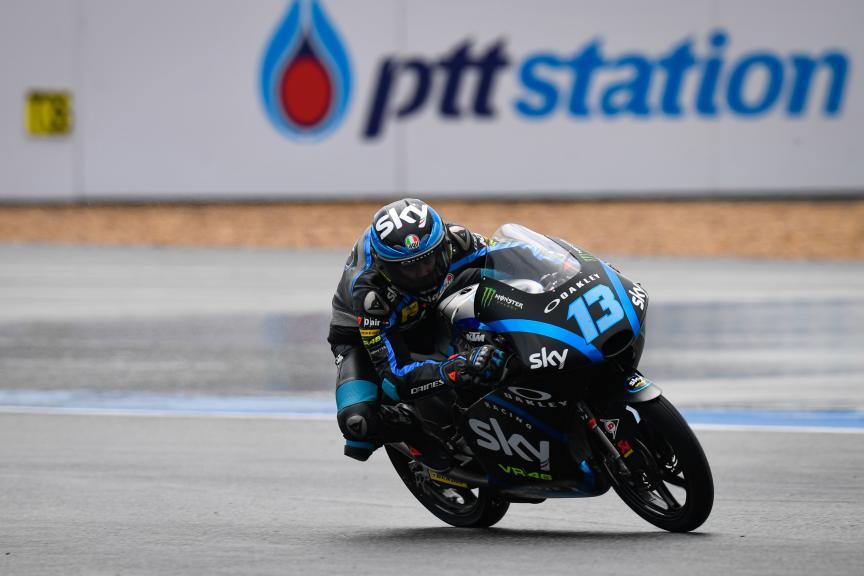 Celestino Vietti, Sky Racing Team VR46, PTT Thailand Grand Prix