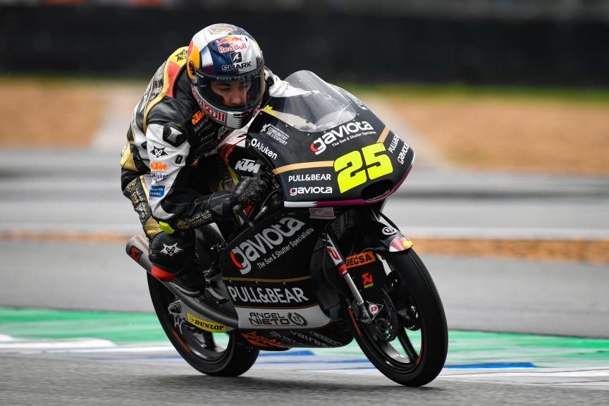 Raul Fernandez, Gaviota Angel Nieto Team, PTT Thailand Grand Prix