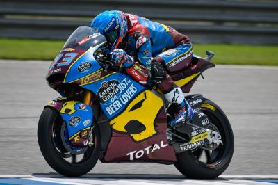 Marquez masters Moto2™ qualifying for pole in Thailand