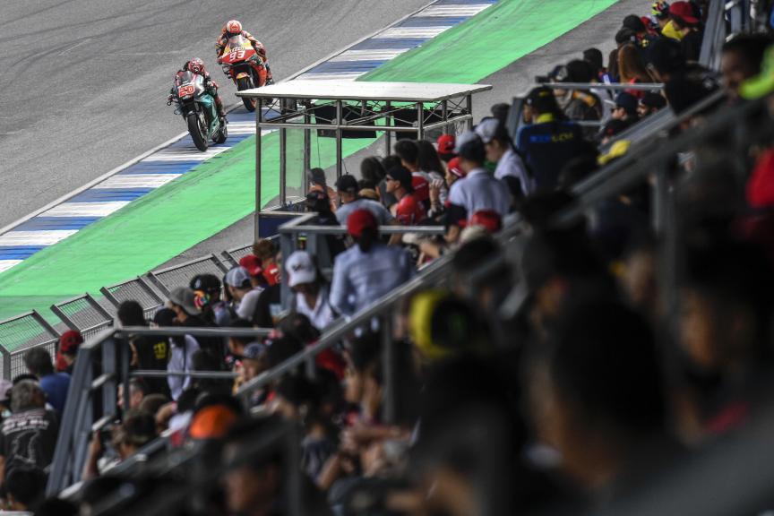 Fabio Quartararo, Marc Marquez, PTT Thailand Grand Prix