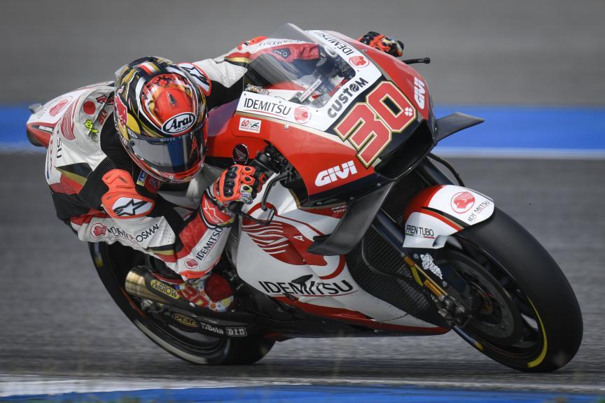 Takaaki Nakagami, LCR Honda Idemitsu, PTT Thailand Grand Prix