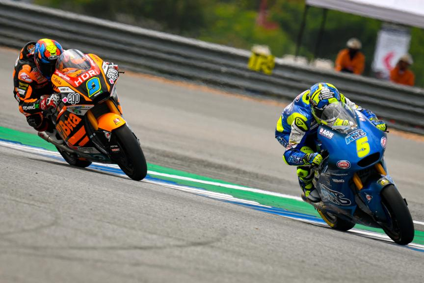 Andrea Locatelli, Jorge Navarro, PTT Thailand Grand Prix