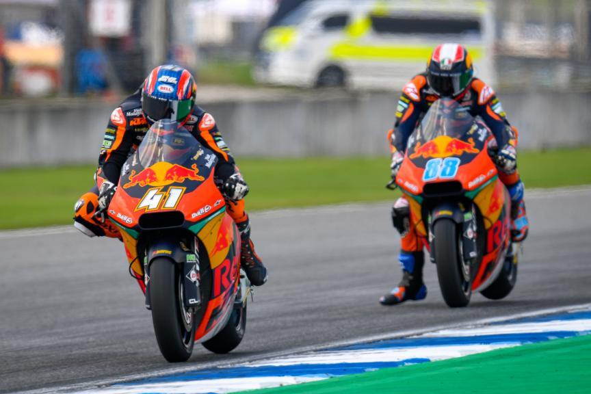 Brad Binder, Red Bull KTM Ajo, PTT Thailand Grand Prix