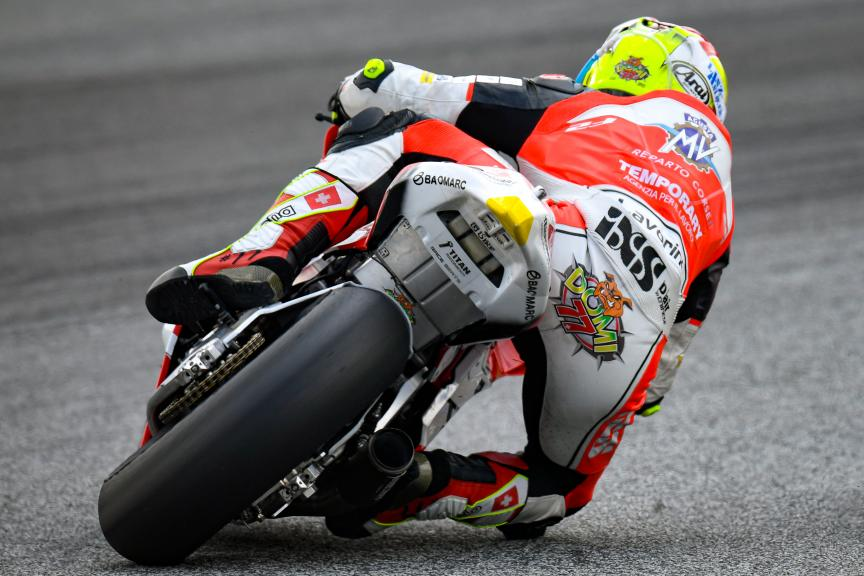 Dominique Aegerter, MV Augusta Temporary Forward, PTT Thailand Grand Prix