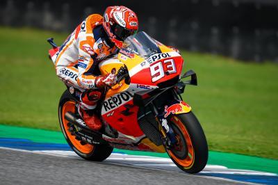 Márquez asume el reto lanzado por Yamaha