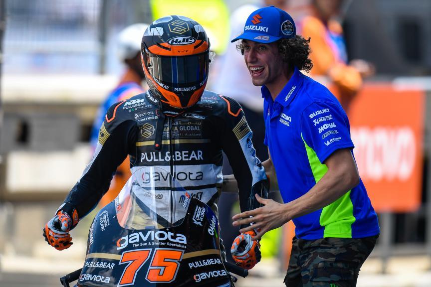 Albert Arenas, Alex Rins, PTT Thailand Grand Prix