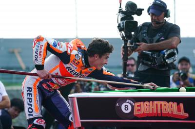 La 'ottava' di Marquez fa il giro del mondo