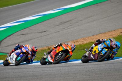 Four to go: Fernandez starts his final stand on Marquez turf