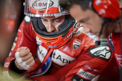 "Dovizioso: ""We worked so hard, but it wasn't enough"""