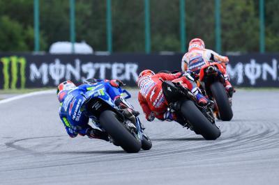 MotoGP™ : La bataille bat son plein pour le podium final !