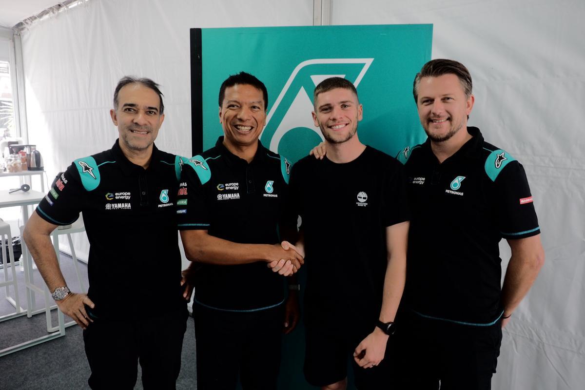 Dixon joins Petronas Sprinta Racing for 2020 Moto2™ season