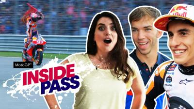 Pierre Gasly is a massive MotoGP™ fan | Inside Pass #15