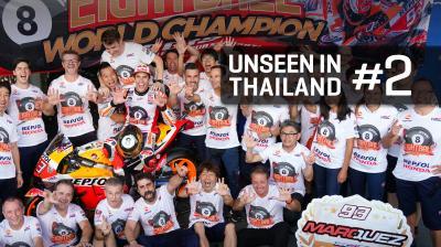 Pensi di aver visto tutto del GP della Thailandia?