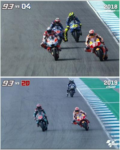 Last lap, last corner, last on the brakes! The #ThaiGP
