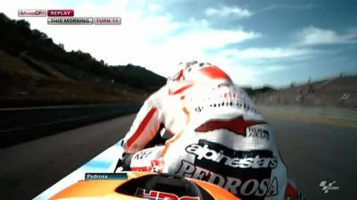 Stand by for one of the great #MotoGP stoppies!!! //