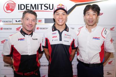 Nakagami rinnova con Honda