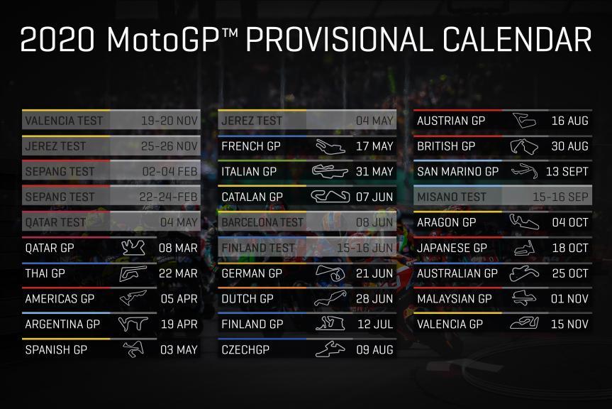 Schedule 2020