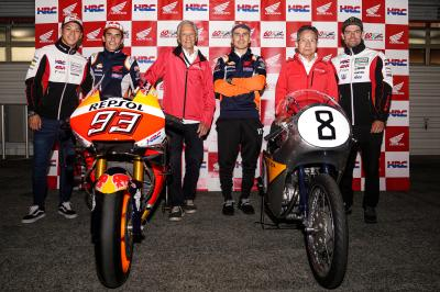Legendary bikes and riders meet Marquez & Lorenzo at Motegi