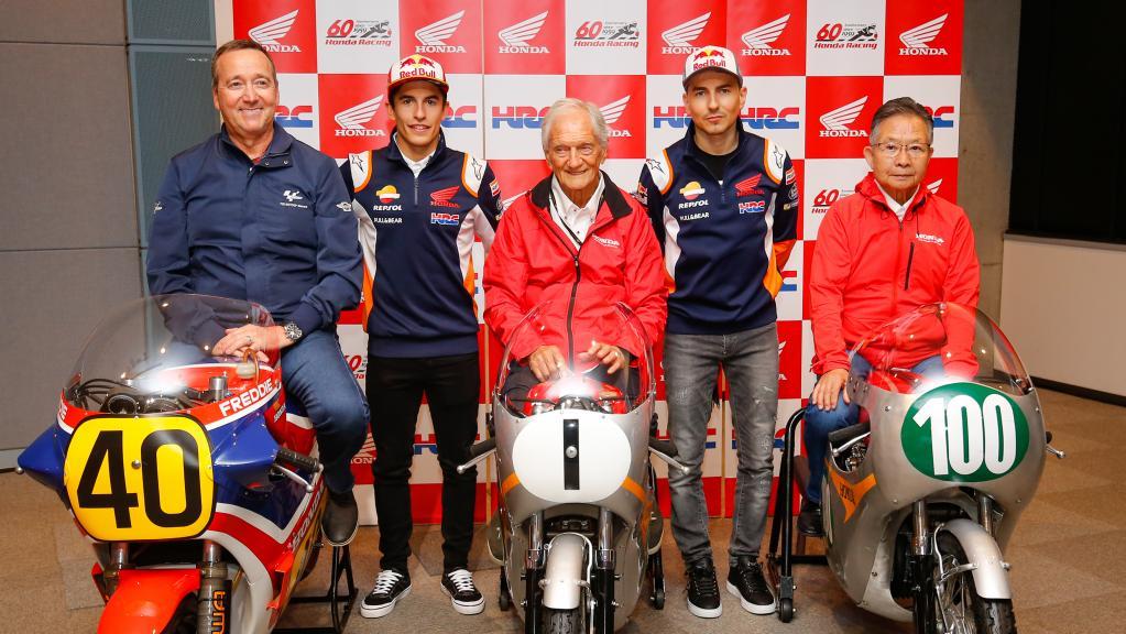 TC visita a Honda