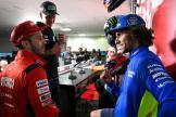 Andrea Dovizioso, Alex Rins, Fabio Quartararo, Motul Grand Prix of Japan
