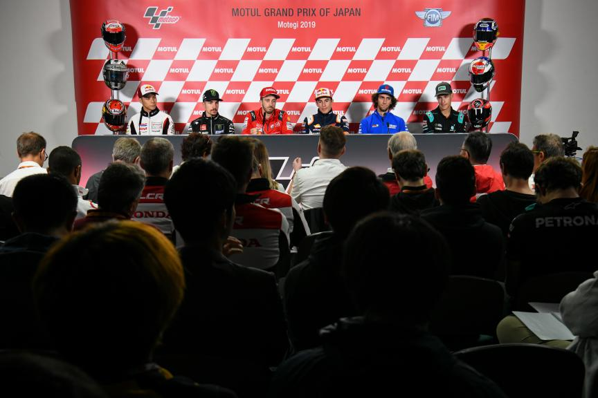 Press-Conference, Motul Grand Prix of Japan
