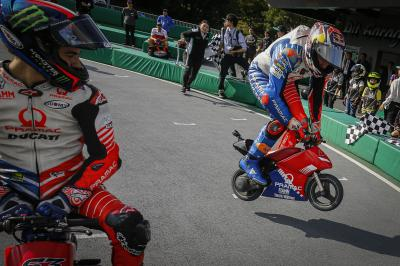 The annual pre-Japanese GP Minibike Grand Prix is back!